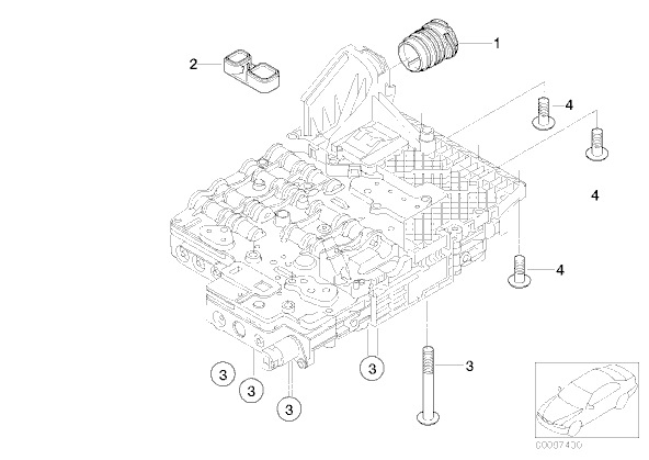 BMW m5 e60 какая коробка передач