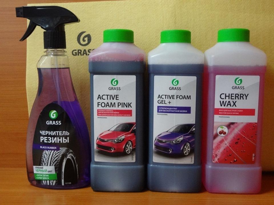 Пена GRASS Активная Active Foam Pink 1л 113120 - фото 6