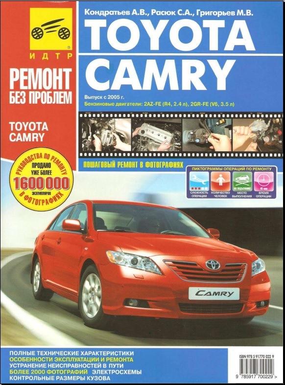 Инструкция К Toyota Camry V40