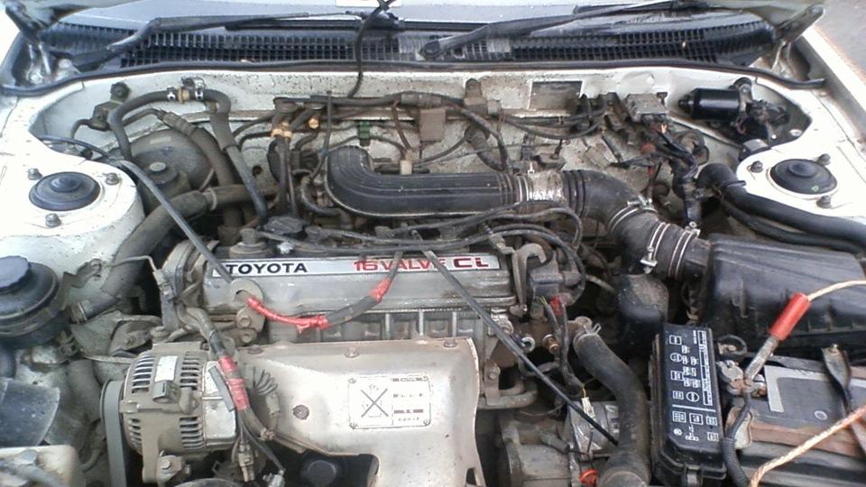 Toyota Carina Фарфоровая