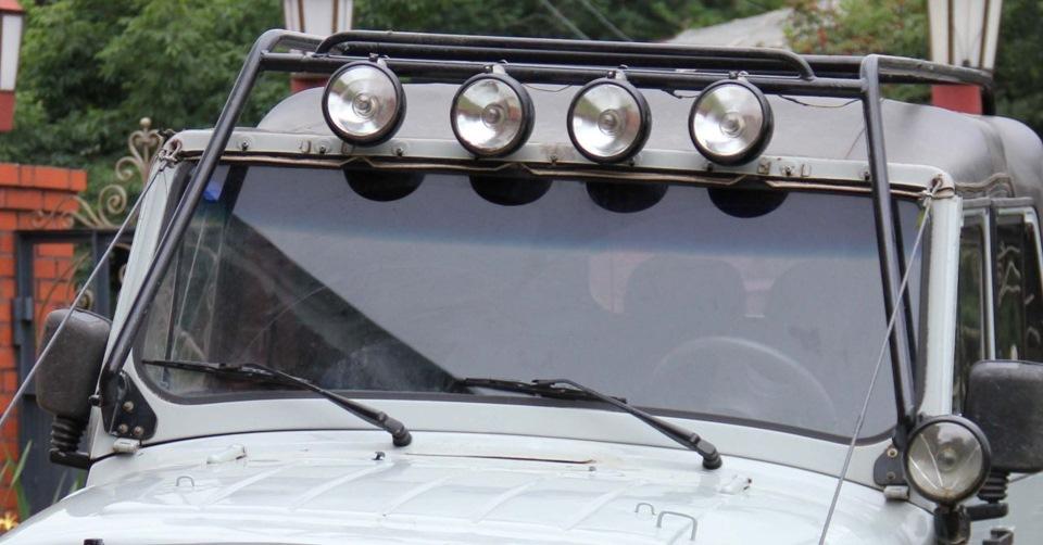 Как сделать багажник на крышу уаз 469 своими руками