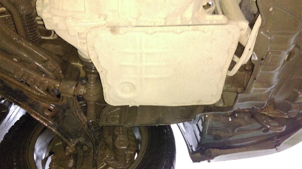 Замена масла в АКПП (вариатор) Nissan Liberty 2002 год. - DRIVE2