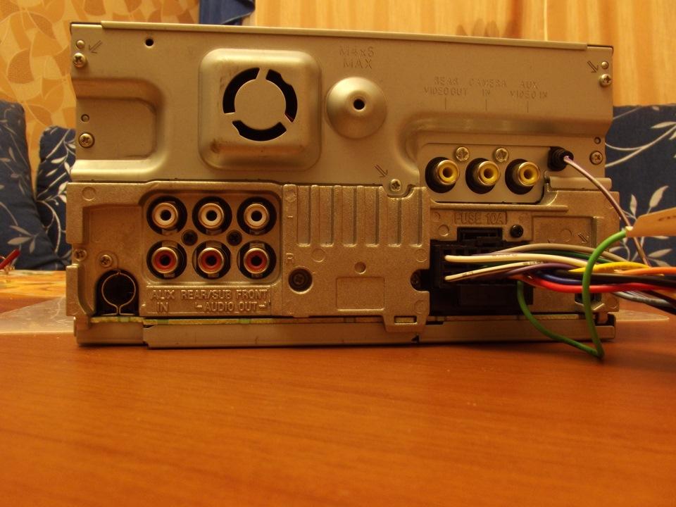 Sony xav-e622 инструкция
