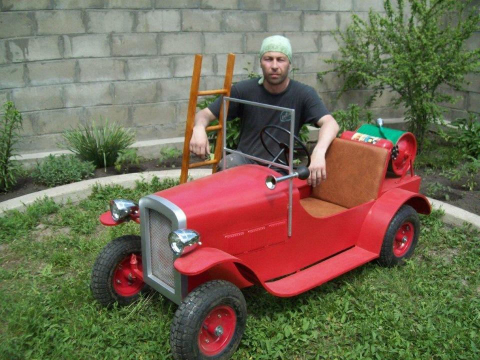 Детские автомобили своими руками