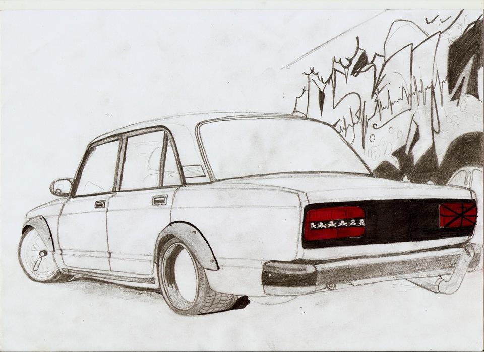Копейка рисунок карандашом бпан