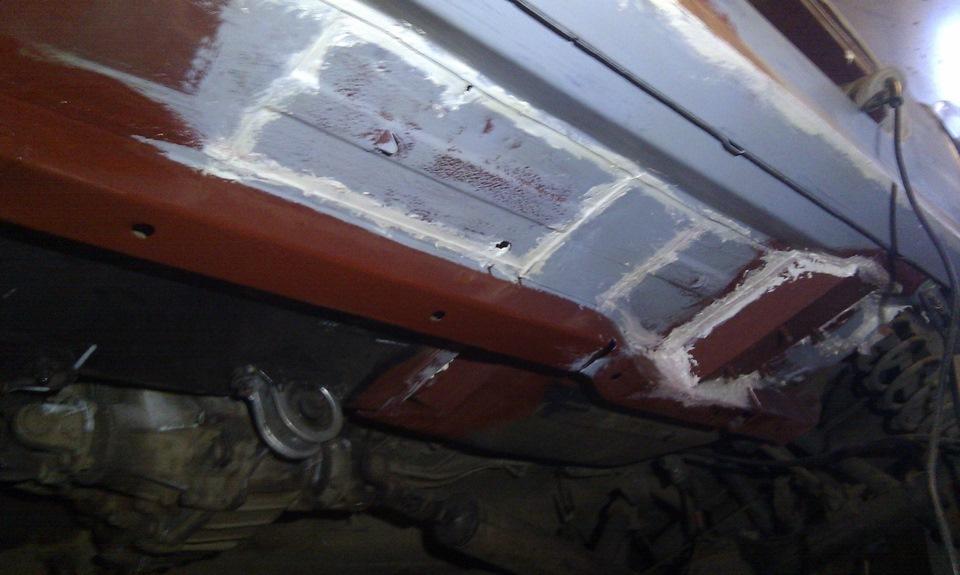 Кузовной ремонт 21213 своими руками 47