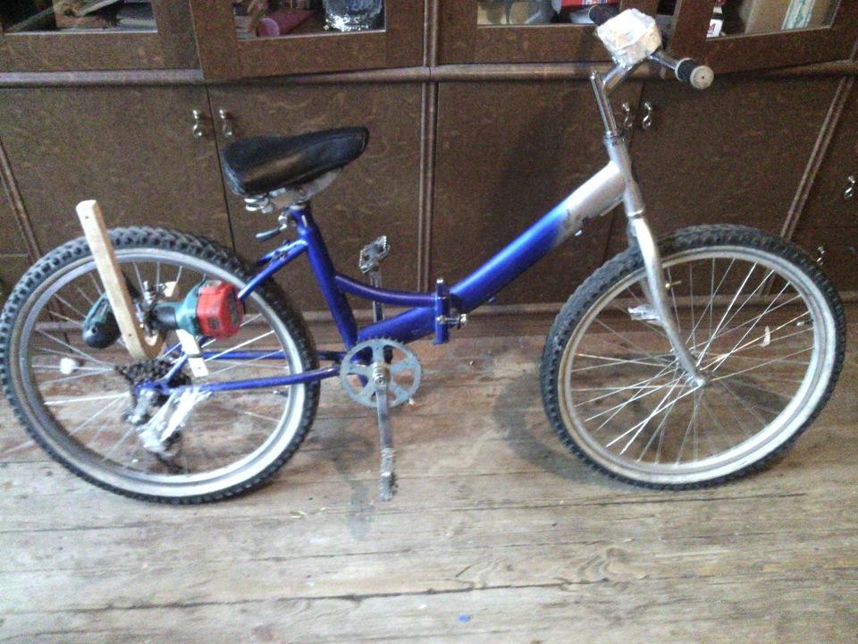 Велосипед из шуруповерта своими руками 68