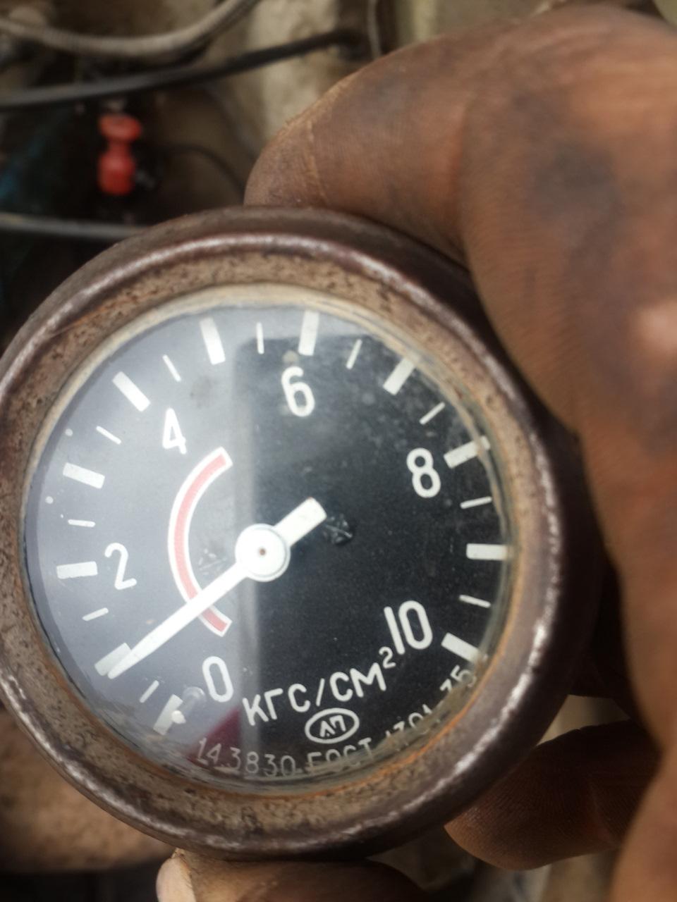 Манометр для проверки давления масла своими руками 15