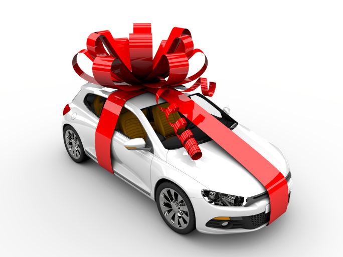картинки автомобиль в подарок большим