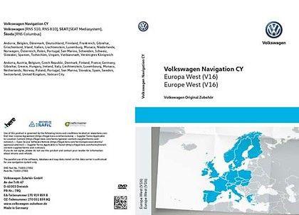 Новые карты, RNS510: CD_8542 v 16 East Europe (Восточная Европа