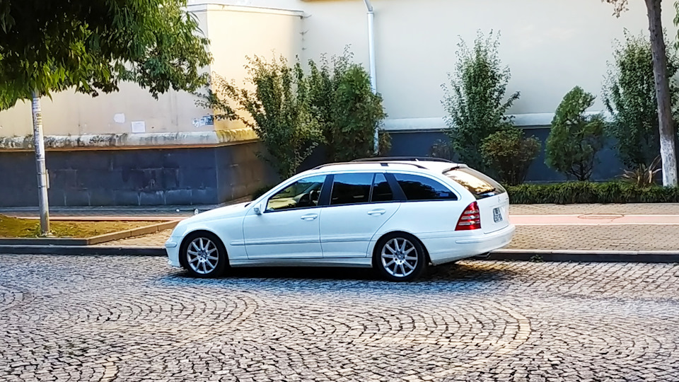 Вылезла ошибка  — Mercedes-Benz C-class Estate, 1 8 л , 2005 года на
