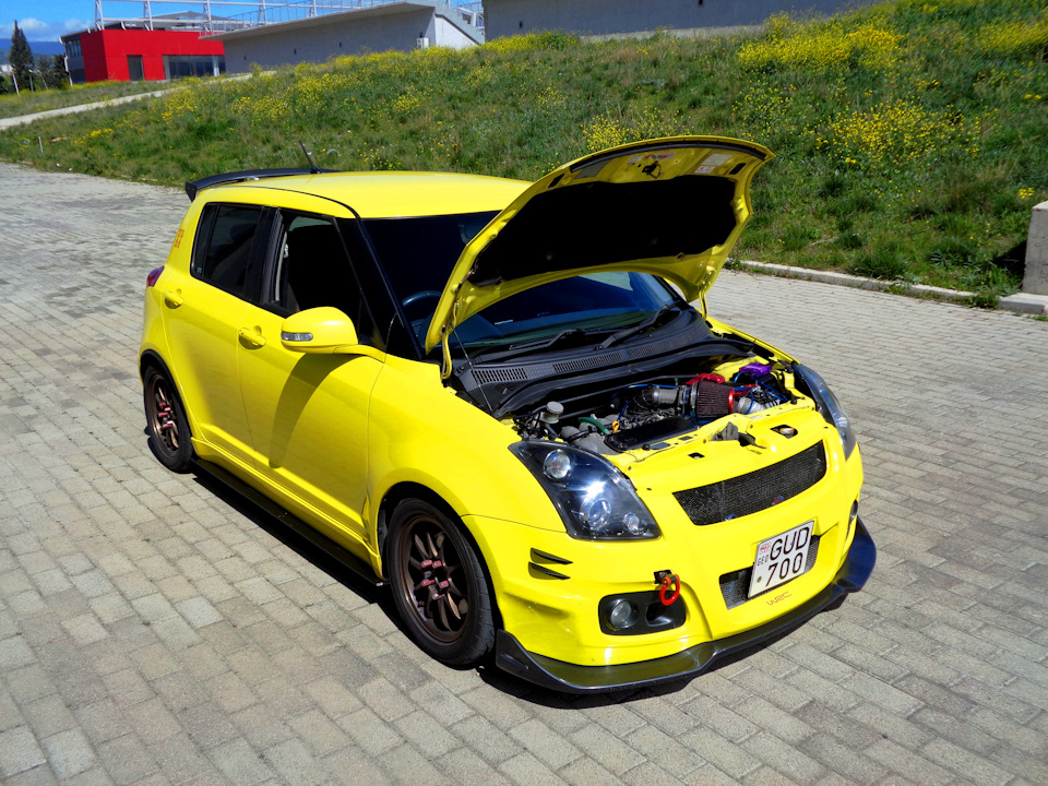 Change oil and clean) — logbook Suzuki Swift 2007 on DRIVE2