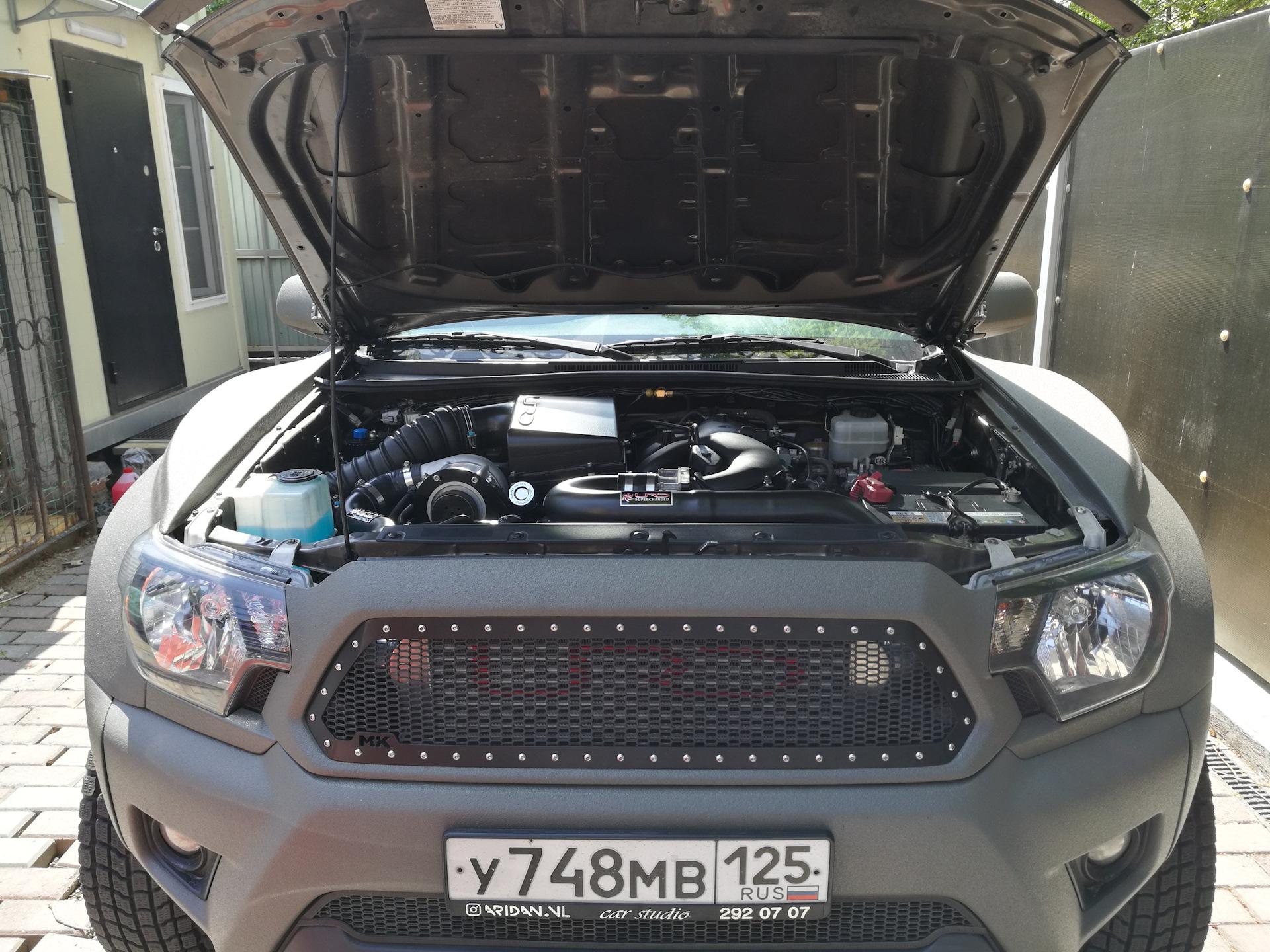URD supercharger — Toyota Tacoma, 4 0 л , 2013 года на DRIVE2