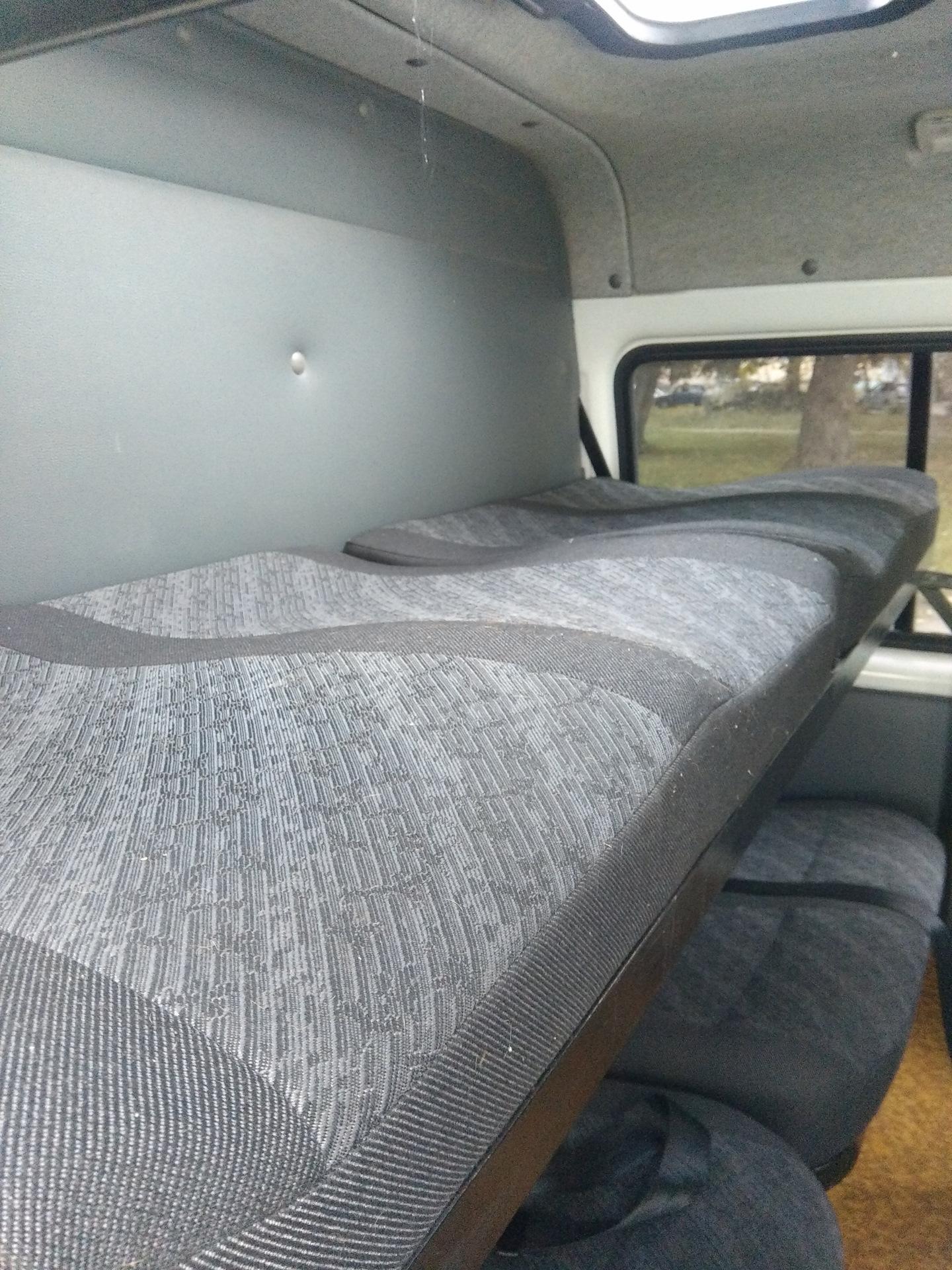 Спальник на газель самодельный фото