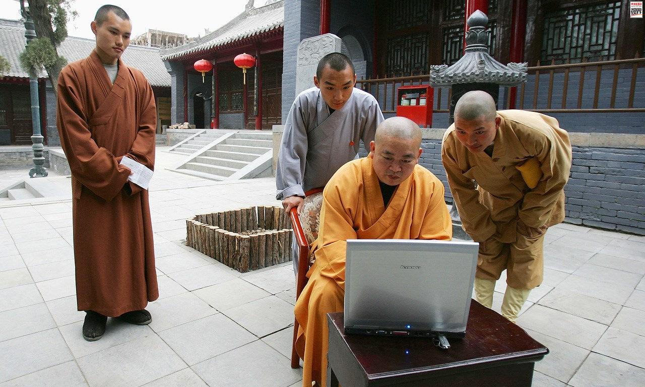 Смешные картинки монах, рабочий стол