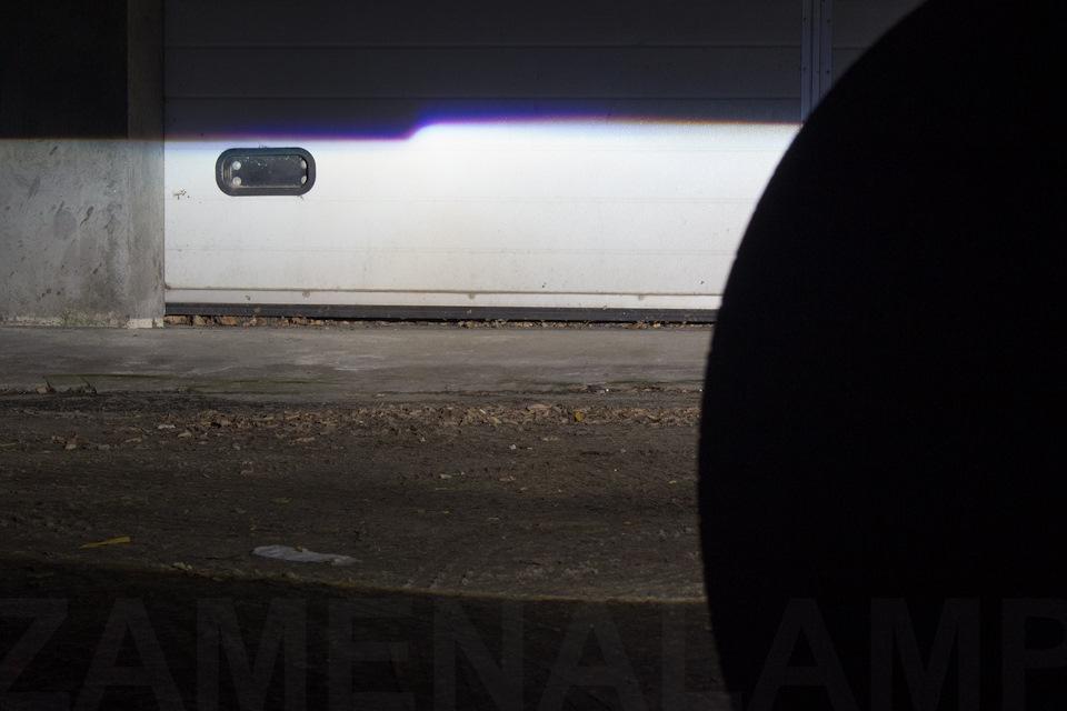 mercedes Свет автомобиля после замены линз.
