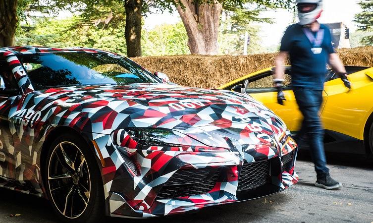 Toyota Supra гудвуд