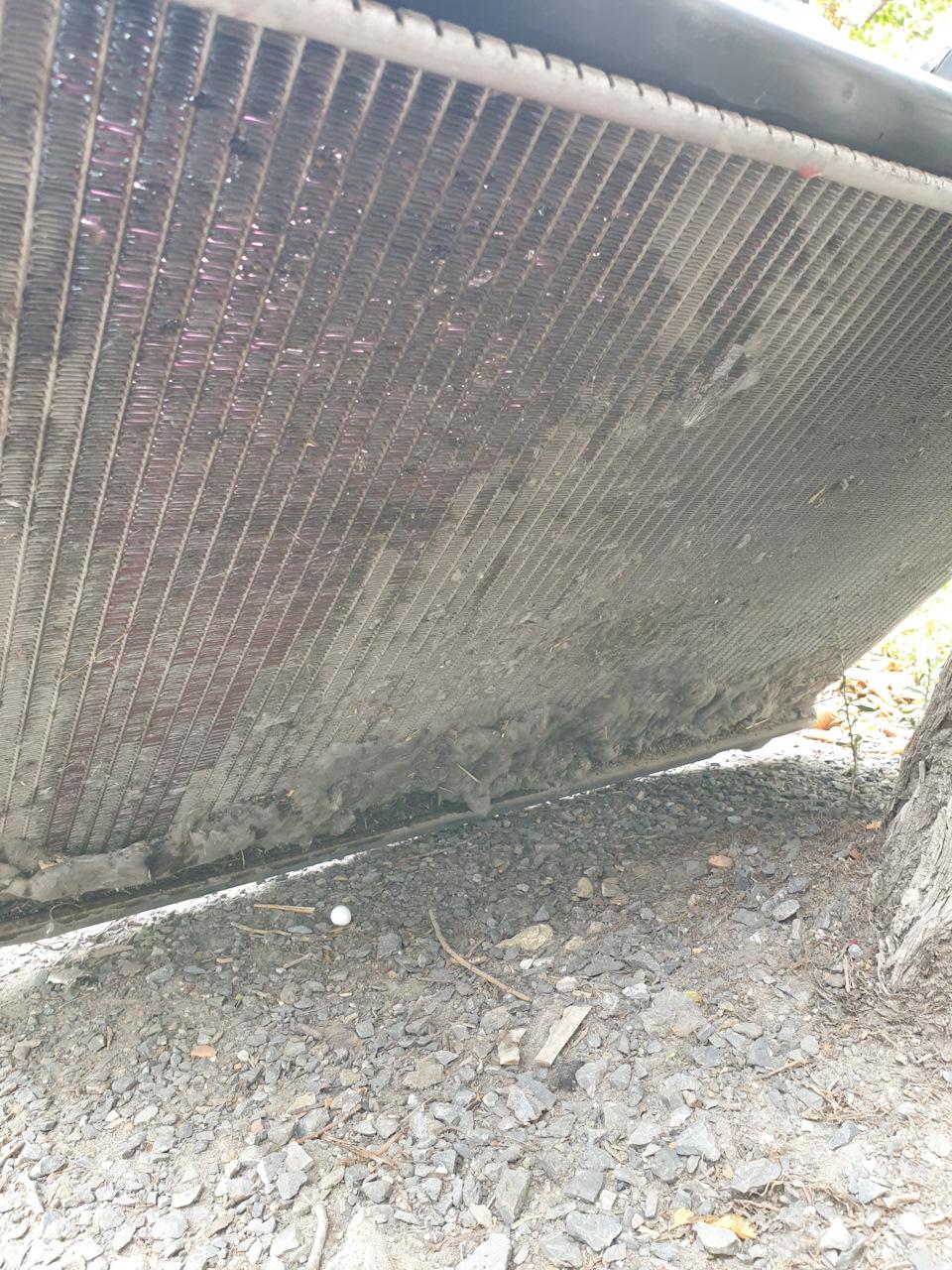 бетон закипел