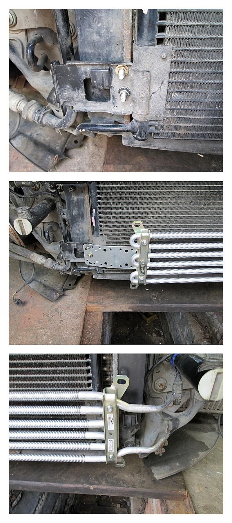 Радиатор ГУР крепление