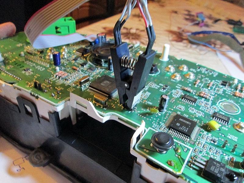 Считывание EEPROM из приборной панели