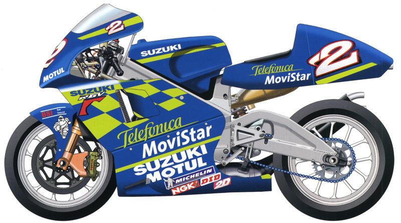2000 Suzuki RGV500 XR80