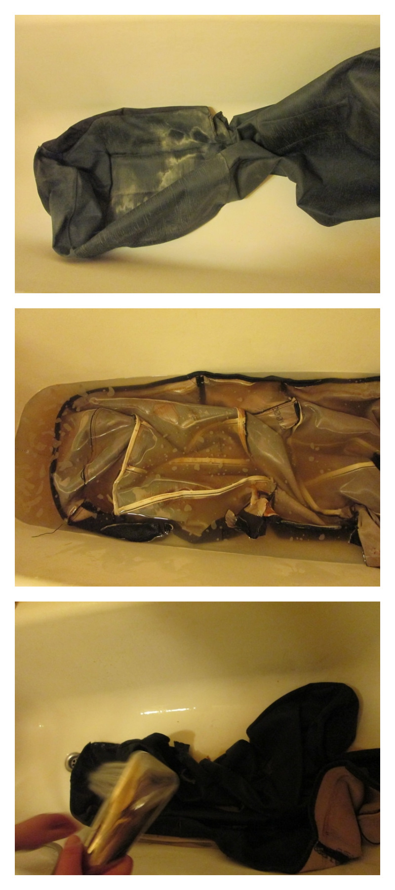 Сборка заднего дивана