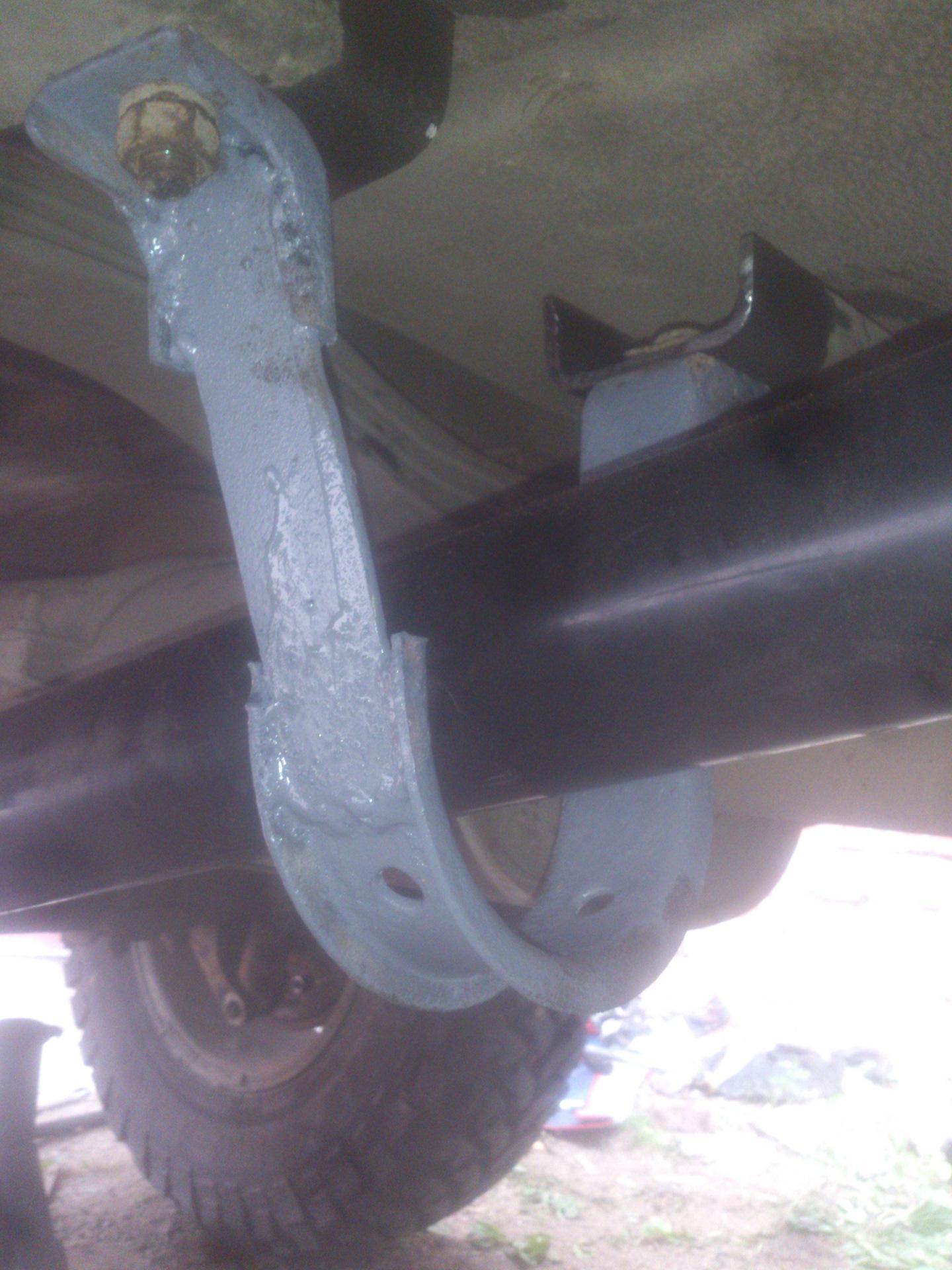 Устранение течи сальника + установка прямого кардана.