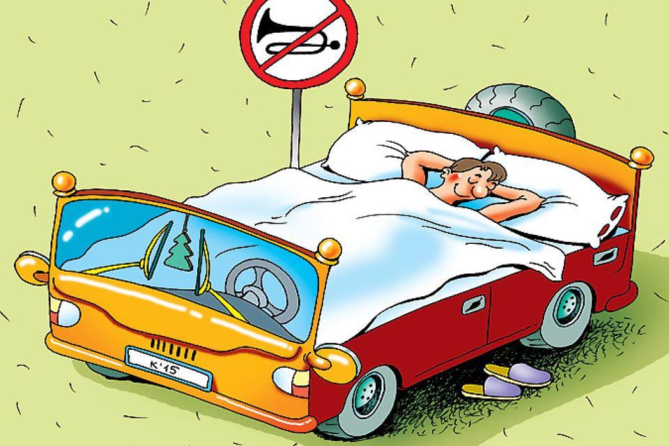 Смешные рисунки водителей за рулем, картинках картинка ильиным