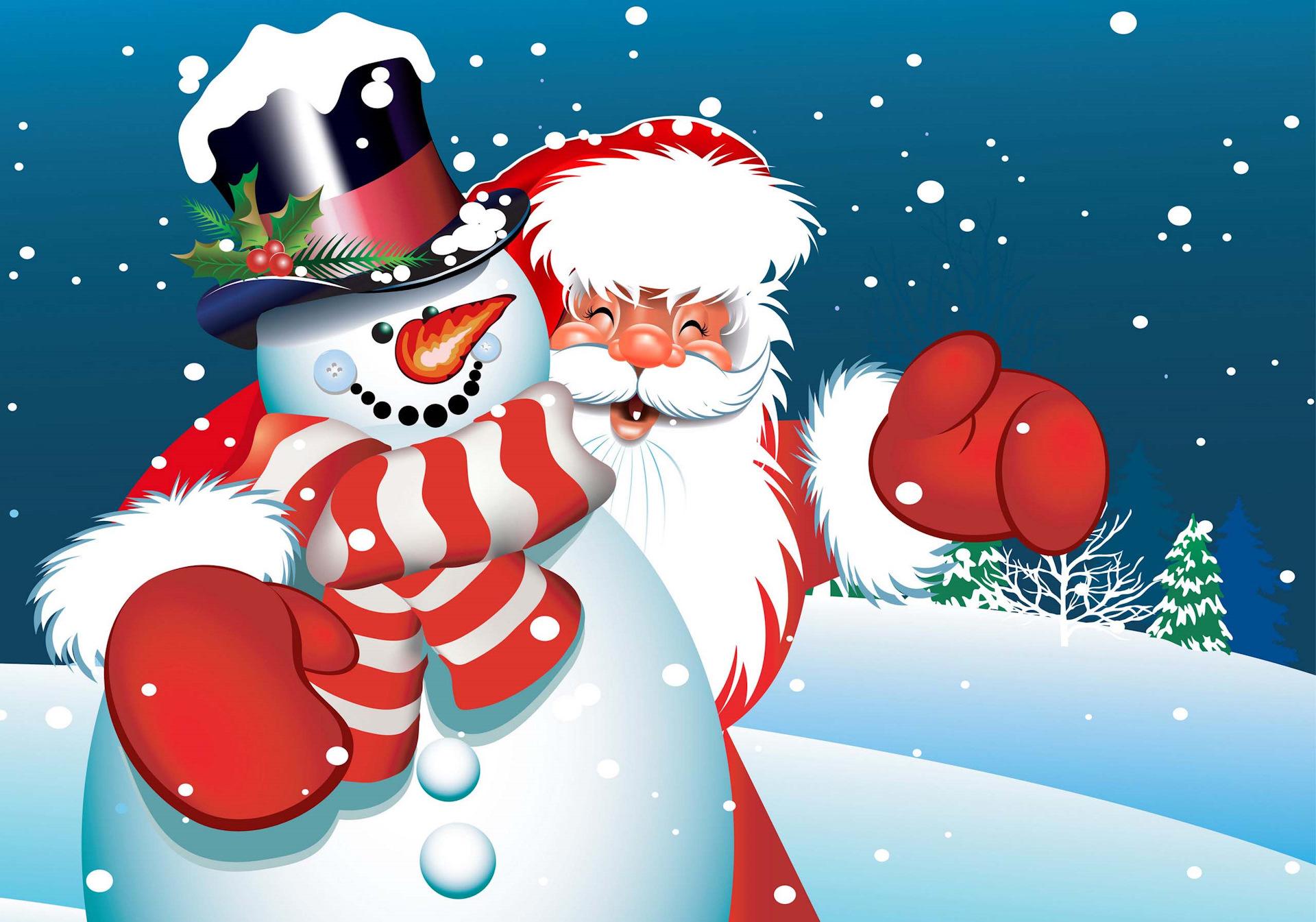 Видео открытки для ватсапа новогодние