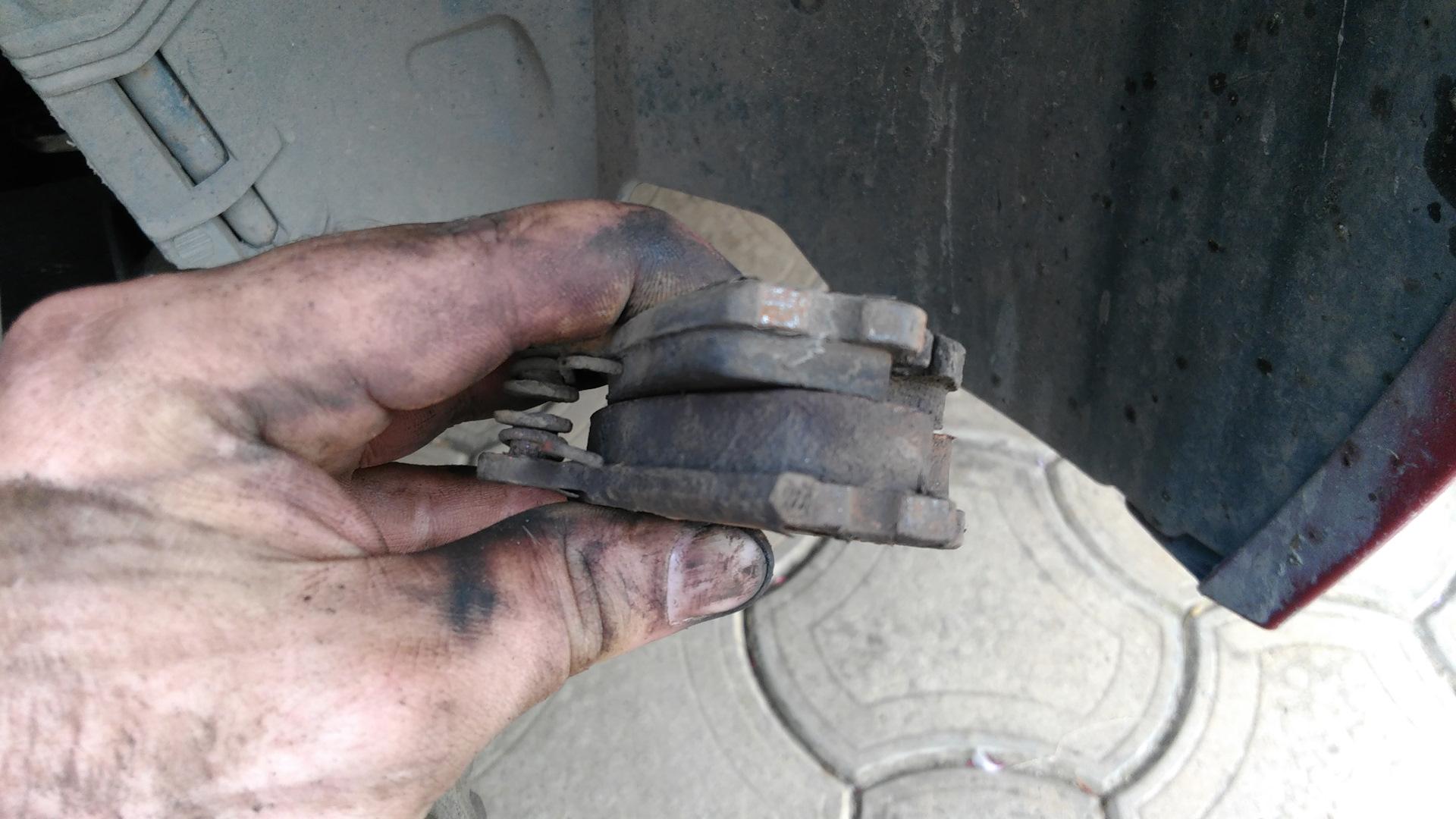полезны замена передних тормозных колодок рено симбол фото буквальном