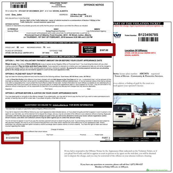 Speeding ticket — traffic light  — Volkswagen Passat CC, 2 0