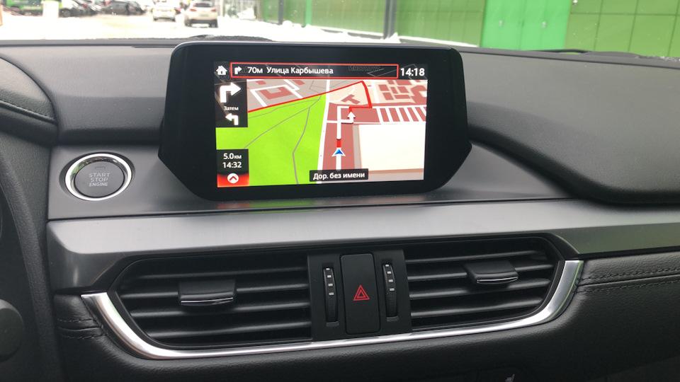 Андроид Mazda 6