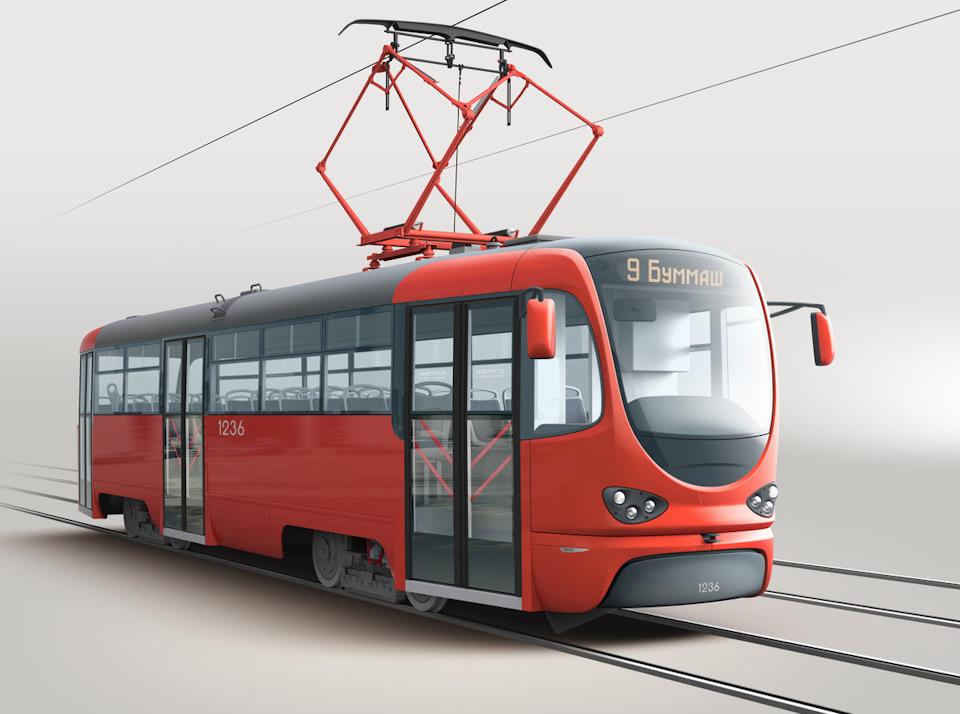 Картинки трамвая для детей на белом фоне