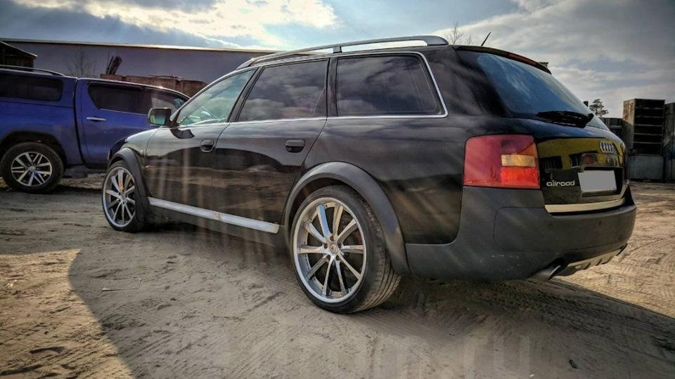 Audi A6 битурбо на 6мкпп Drive2