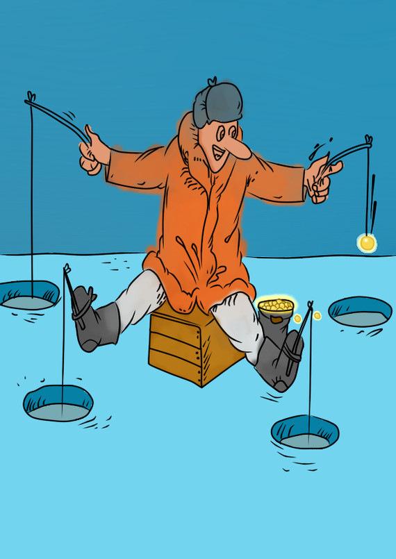 Зимняя рыбалка картинки прикольные, картинка раскраска