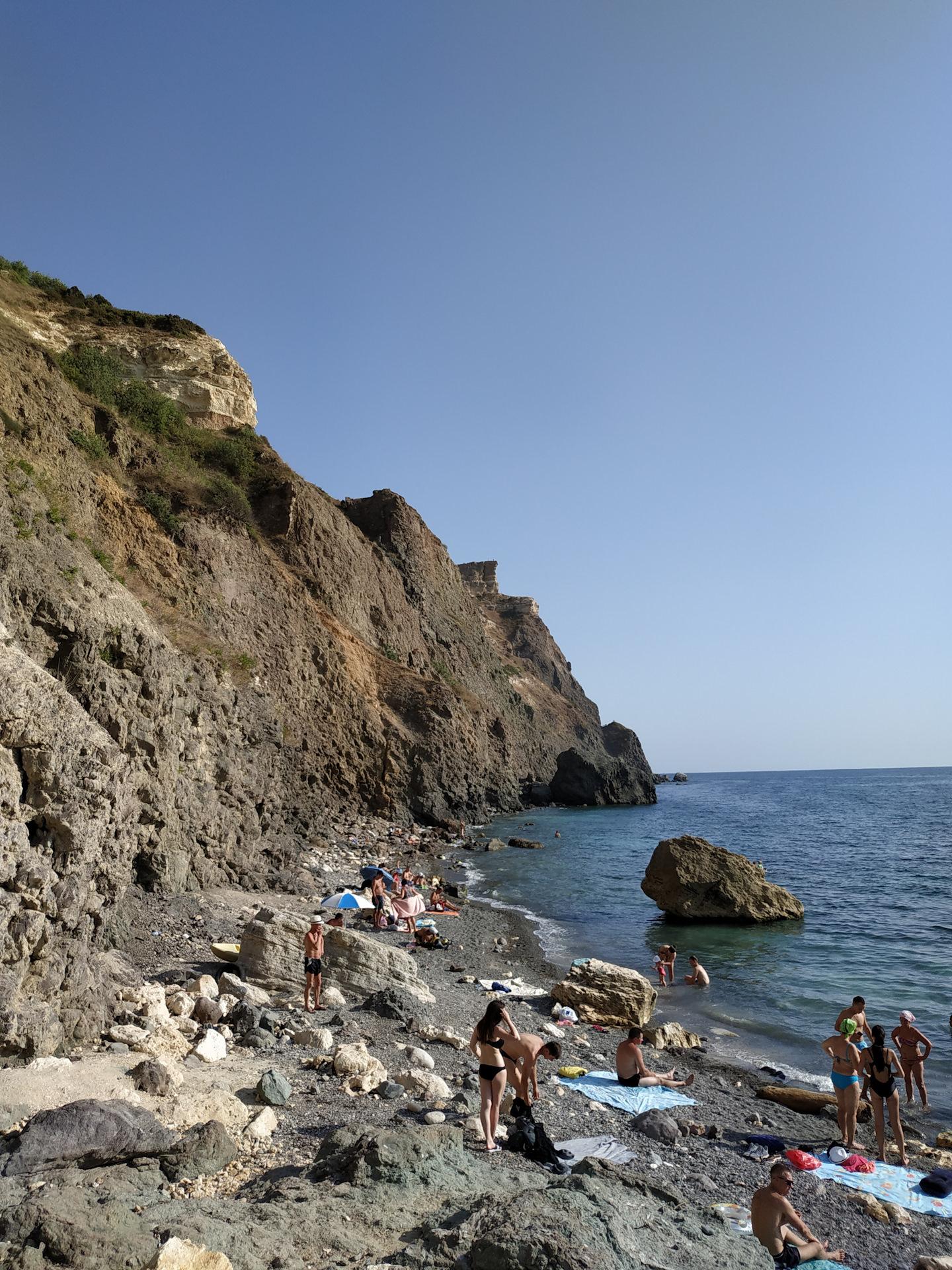 отдых крым дикий пляж фото награда
