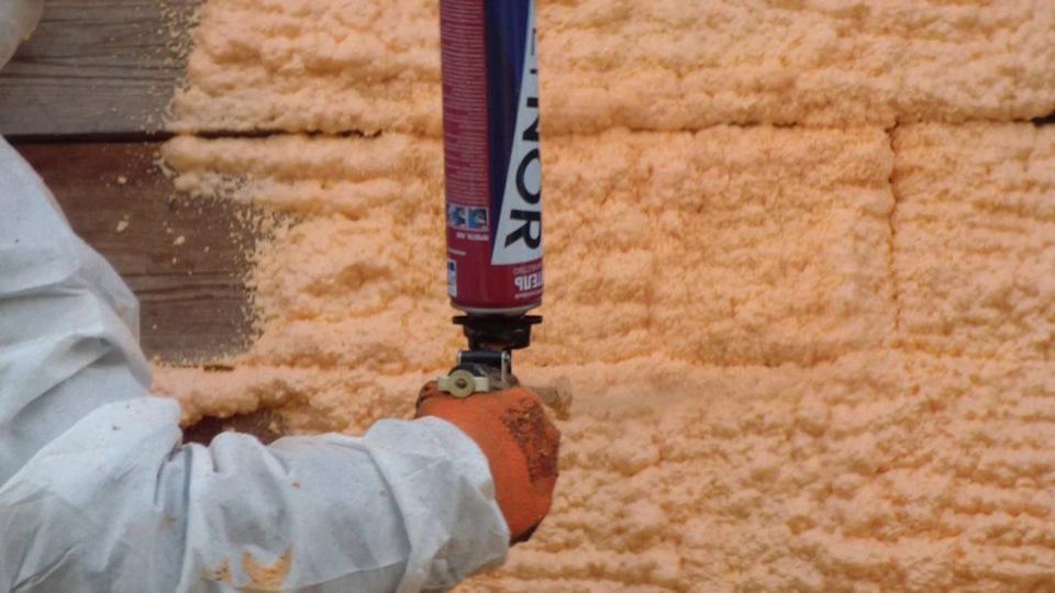 пена утеплитель для стен в баллонах полинор