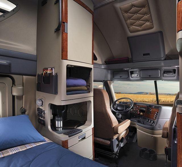 Фото американских грузовиков и их спальники