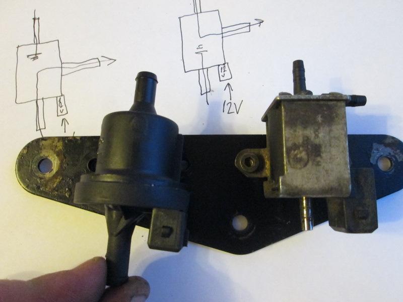 Клапана N249 N112