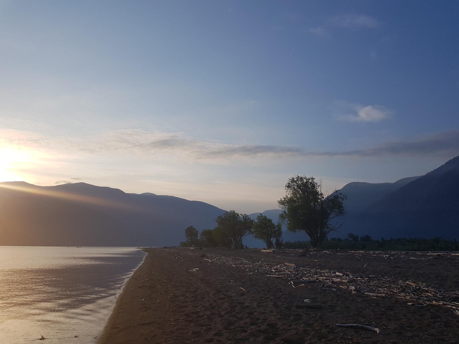 телецкое озеро южная сторона фото сделан