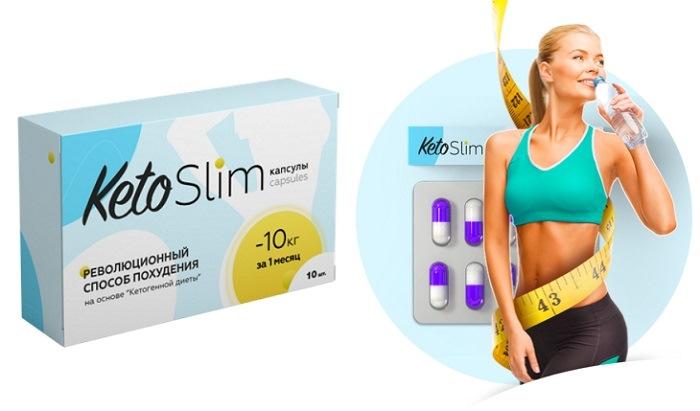 Средство для похудения Keto Slim, эффект и свойства