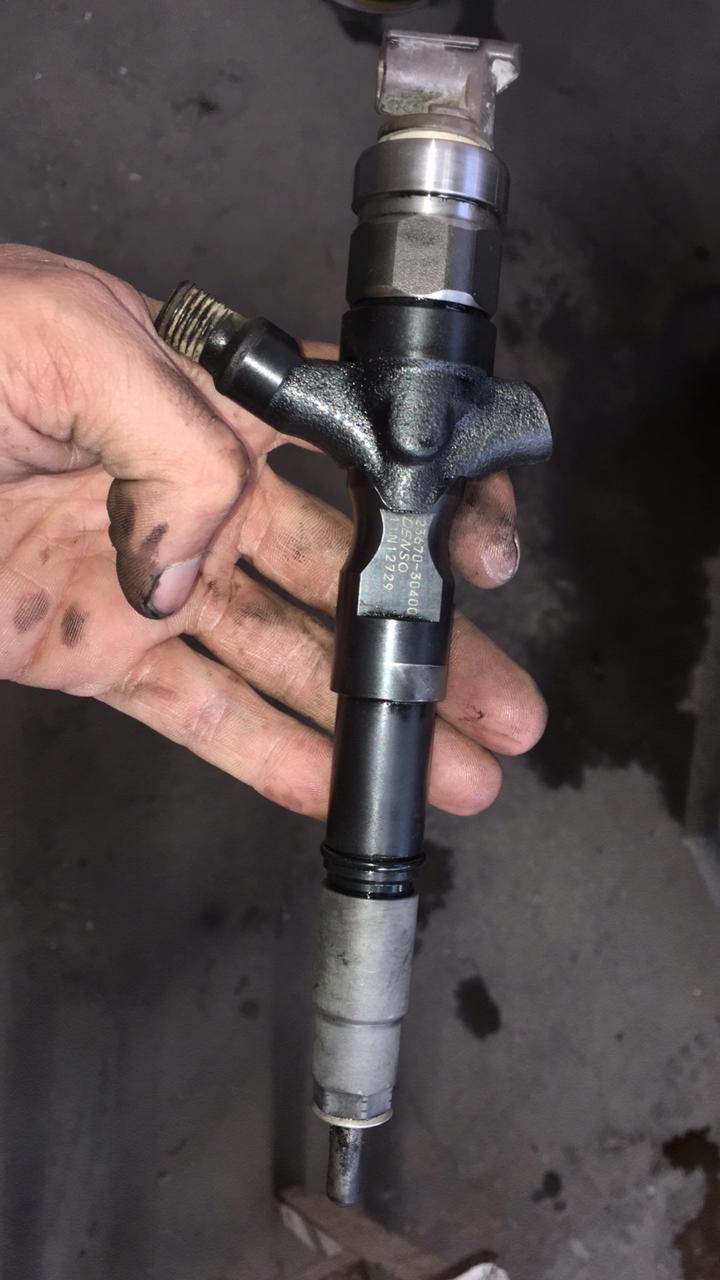 Ошибка P0093 Большая утечка топлива  — Toyota Hilux, 2 5 л
