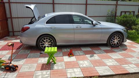 Бортжурнал Mercedes-Benz C-class Diamond