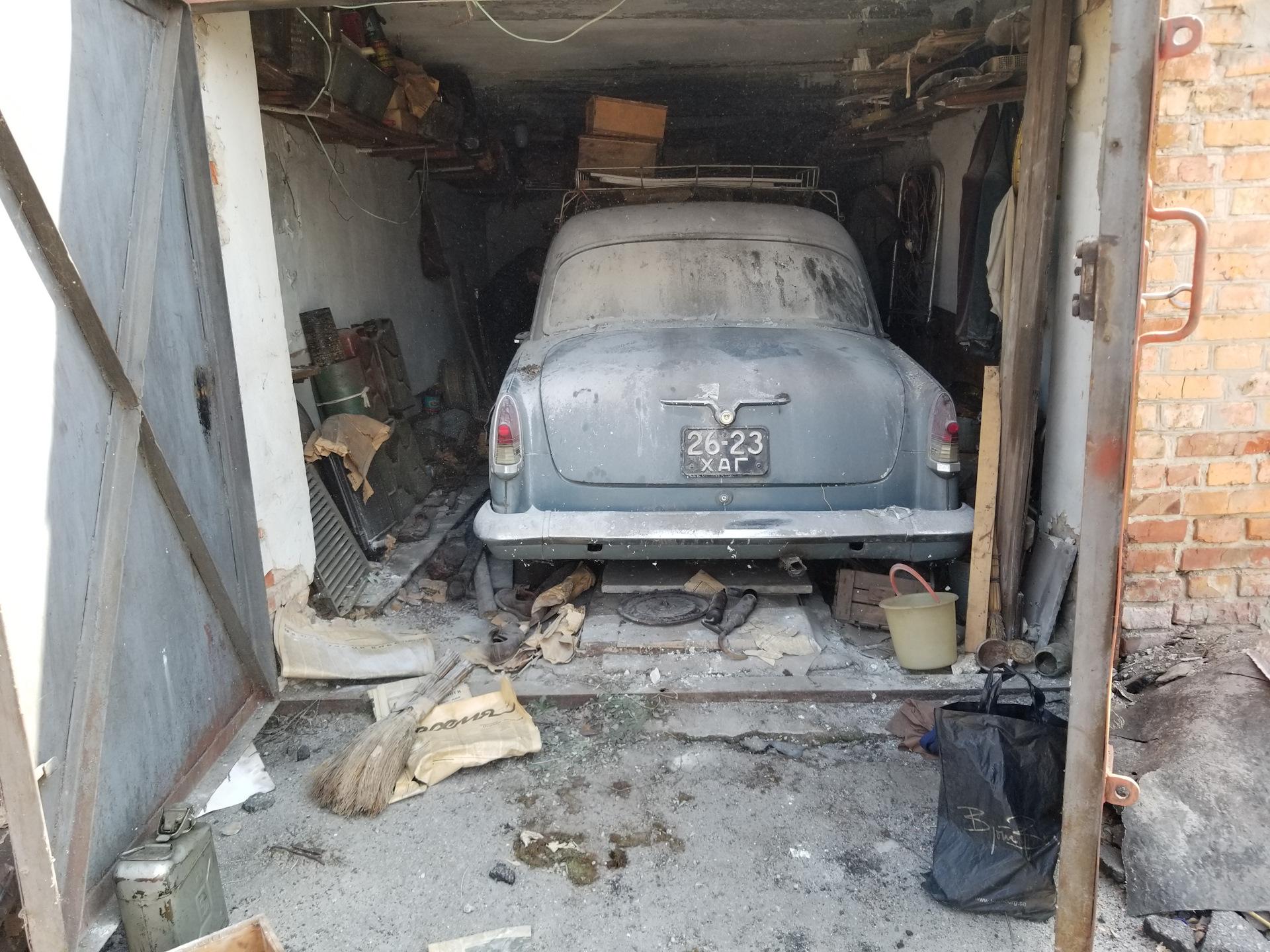 Находки в гаражах фото