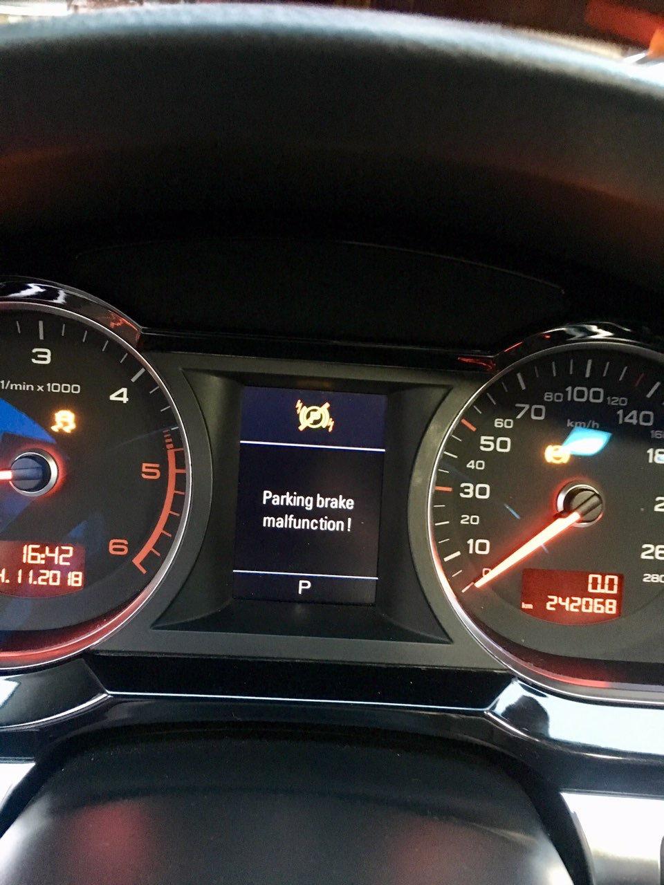 Ошибка ESP/ABS fault! Audi A6 C6  — Audi A6 Avant, 3 0 л , 2005 года