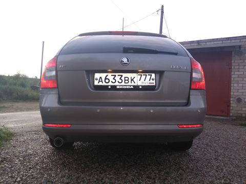 Skoda Octavia A5 Combi обзор