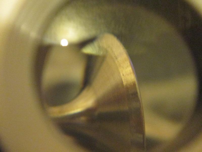 Оценка пролегания клапана