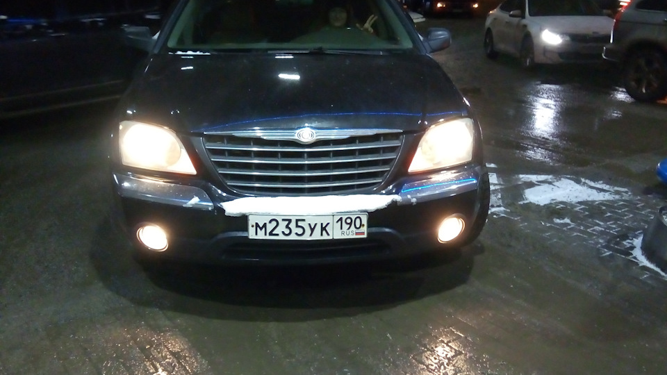 Chrysler Pacifica обзор