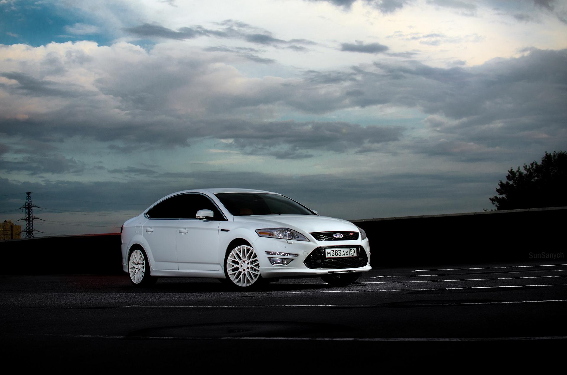 Форд мондео белый картинки