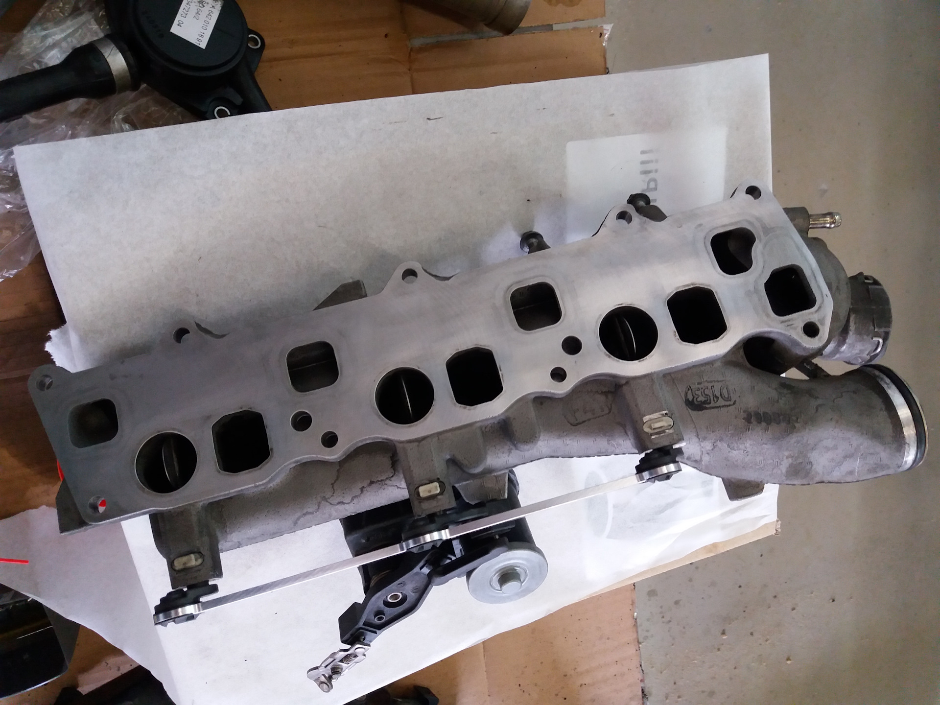 Замена прокладок маслоохладителя мотора ОМ642 4часть — Mercedes-Benz